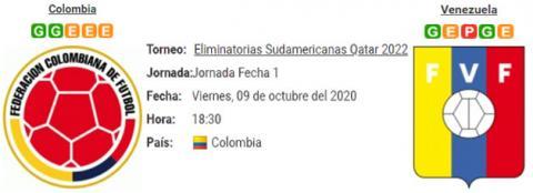 Resultado Colombia 3 - 0 Venezuela 09 de Octubre Eli...