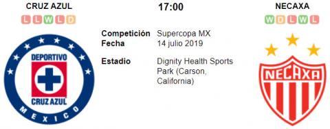 Resultado Cruz Azul 4 - 0 Necaxa 14 de Julio Superco...