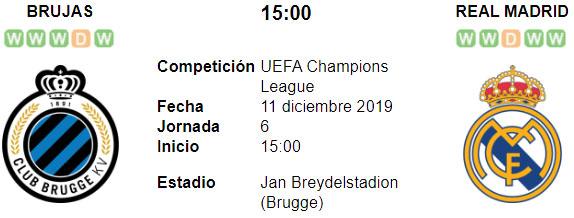 Image Result For En Vivo Club Brugge Vs Real Madrid En Vivo Jan